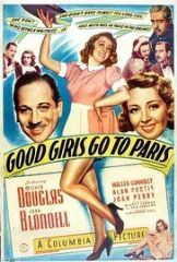 Good Girls Go to Paris 1939 DVD - Melvyn Douglas / Joan Blondell